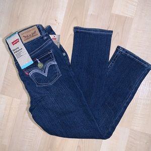 LEVI'S SKINNY FILIFORME Girls Jeans sparkle button